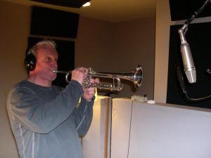 Recording at Winterland Studios, Feb. '08