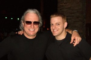 Jeff With His Son, Josh, Recently at a High & Mighty Gig