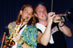 Musician and Producer Joe Alley With Jeff Performing Rock and Roll With Twin Cities Band, Raggs