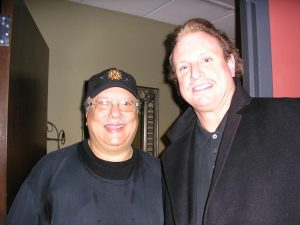 Jeff Backstage With Trumpet Great Arturo Sandoval