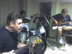 A High & Mighty rehearsal...Steve, Tony, Josh