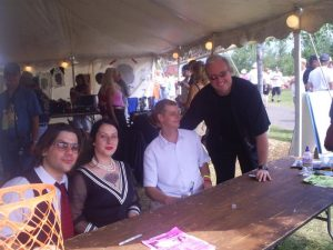 Jeff Performed With Davina & The Vagabonds. At an Autograph Session at The 2006 Bayfront Blues Festi