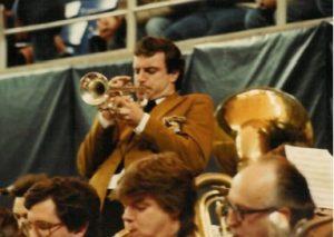 Jeff performing