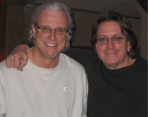 Jeff and World-Class Keyboardist, Producer and Composer and good friend, Ricky Peterson